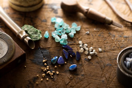 Edelsteine bei Tieren, Kristalle, Tiere Foto: ©  optimarc @ shutterstock