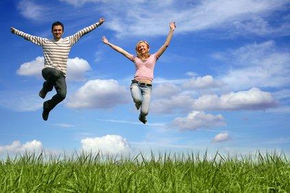Glück, Lebensfreude, positive Gedanken, Gedanken, Gefühle Foto: ©  Doreen Salcher @ Fotolia