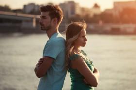 Probleme mit dem Partner,Angst vor dem Verlassen werden,häufige Probleme in der Partnerschaft Foto: ©  InesBazdar @ shutterstock