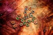 Rune 3 im Futhark - Thurisaz  Foto: ©  Stephen Orsillo @ shutterstock
