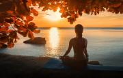 Meditationsübung für positive Energie, Vertrauen und Kraft   Foto: ©  GlebSStock @ shutterstock
