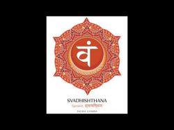 Sakralchakra Swadhisthana (417 Hz) Tiefenmeditation & spirituelles Wachstum Foto: © Second chakra illustration vector of Svadhishthana - Vektorgrafi @ Shutterstock