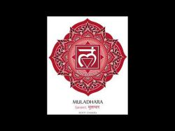 Wurzelchakra Muladhara (396 Hz) Wurzelchakra öffnen, aktivieren & reinigen Foto: © First chakra illustration vector of Muladhara - Vektorgrafik @ Shutterstock
