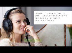 Podcast Folge 01 Intuition Foto: © Por leszekglasner @ Adobe Stock